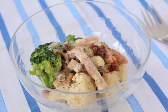 ローソンフレッシュ 10分手料理キット ホットサラダ