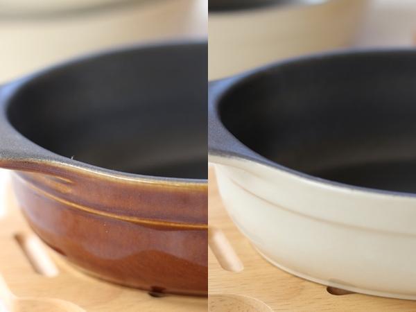 vivノンスティックオーブンウェア 色比べ