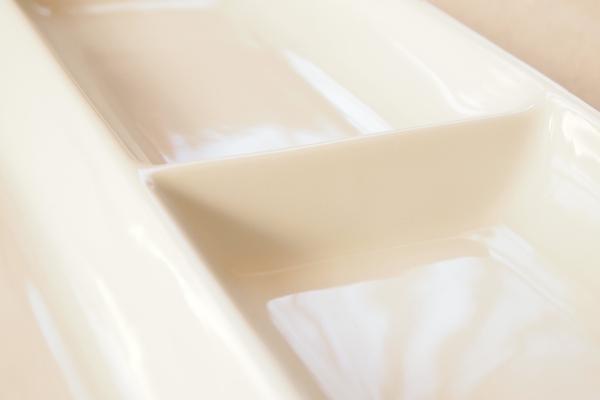 白いランチプレート(仕様)