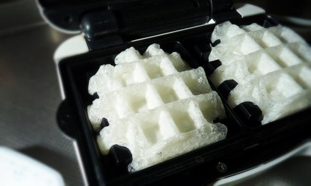 ビタントニオワッフル&ホットサンドベーカーで作るモッフル