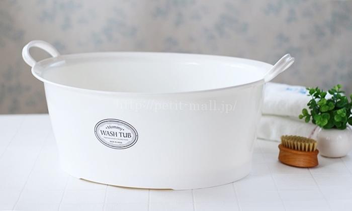 底栓付洗い桶マミーウォッシュ
