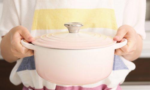 軽くなった鋳物ホーロー鍋