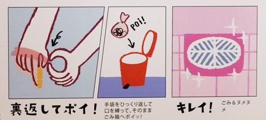 フェリシモ お掃除手袋 使い方