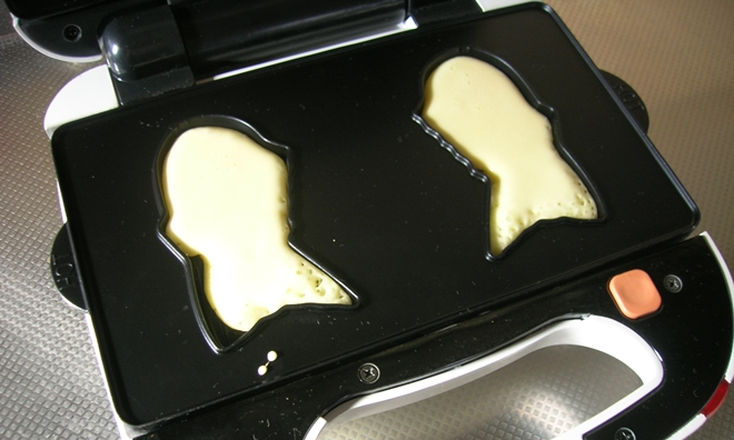 ビタントニオワッフル&ホットサンドメーカーで作るたい焼きのレシピ