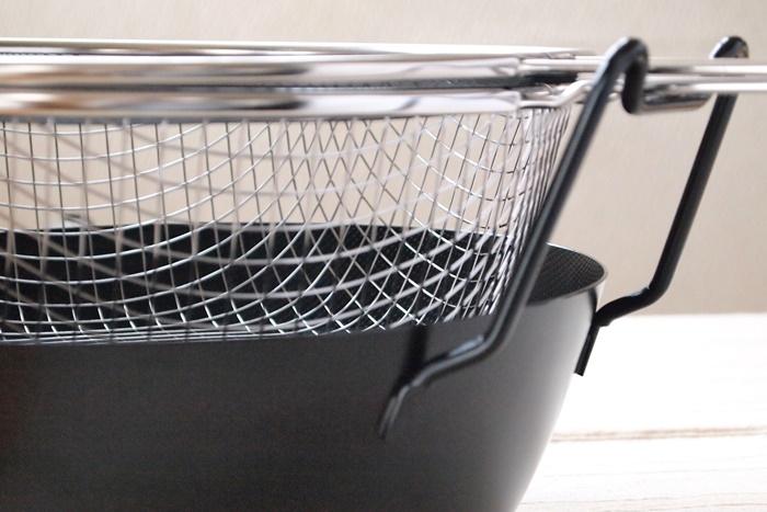 ラバーゼ 有元葉子の鉄の揚げ鍋3点セット